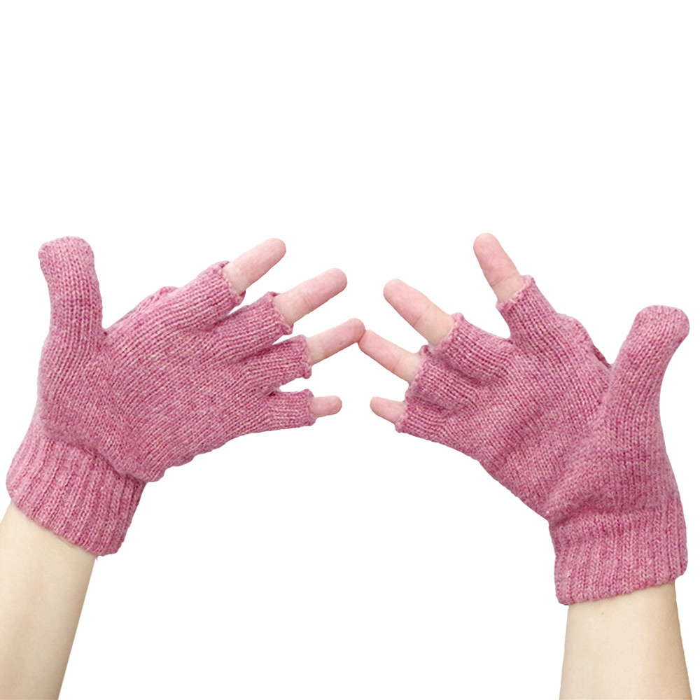 2016 moda Guantes mujer mitten warmer mujer invierno guante sin ...