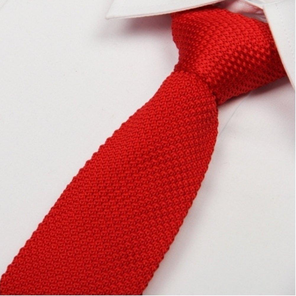 ⑥10 unids/bolsa mens punto lazo Delgado 2017 moda tejida corbata ...