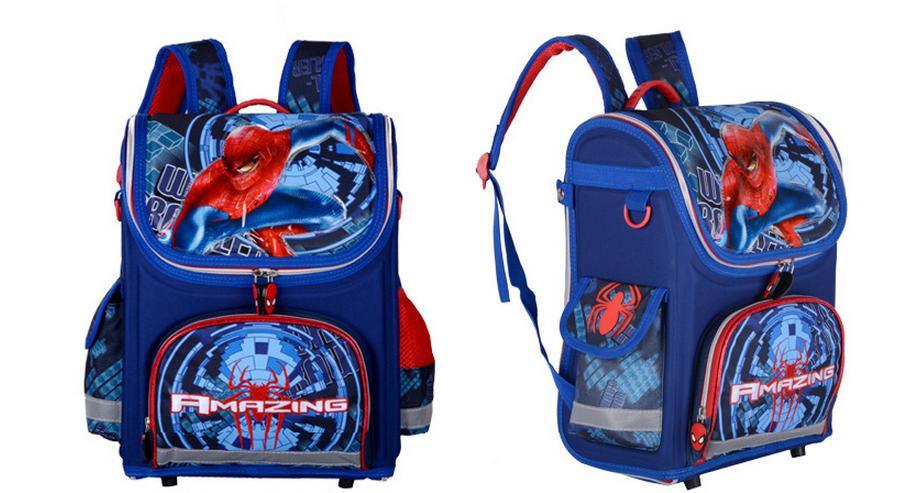 40f142239 Sacos de Escola 2016 Crianças Para Meninos Spiderman Ortopédica Mochilas À  Prova D' Água Saco de Livro Satchel Mochila Mochila Escolar condição: Brand  NEW