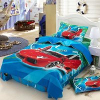 Race Cars Kids Boys Cartoon Bedding Comforter Set Children ...