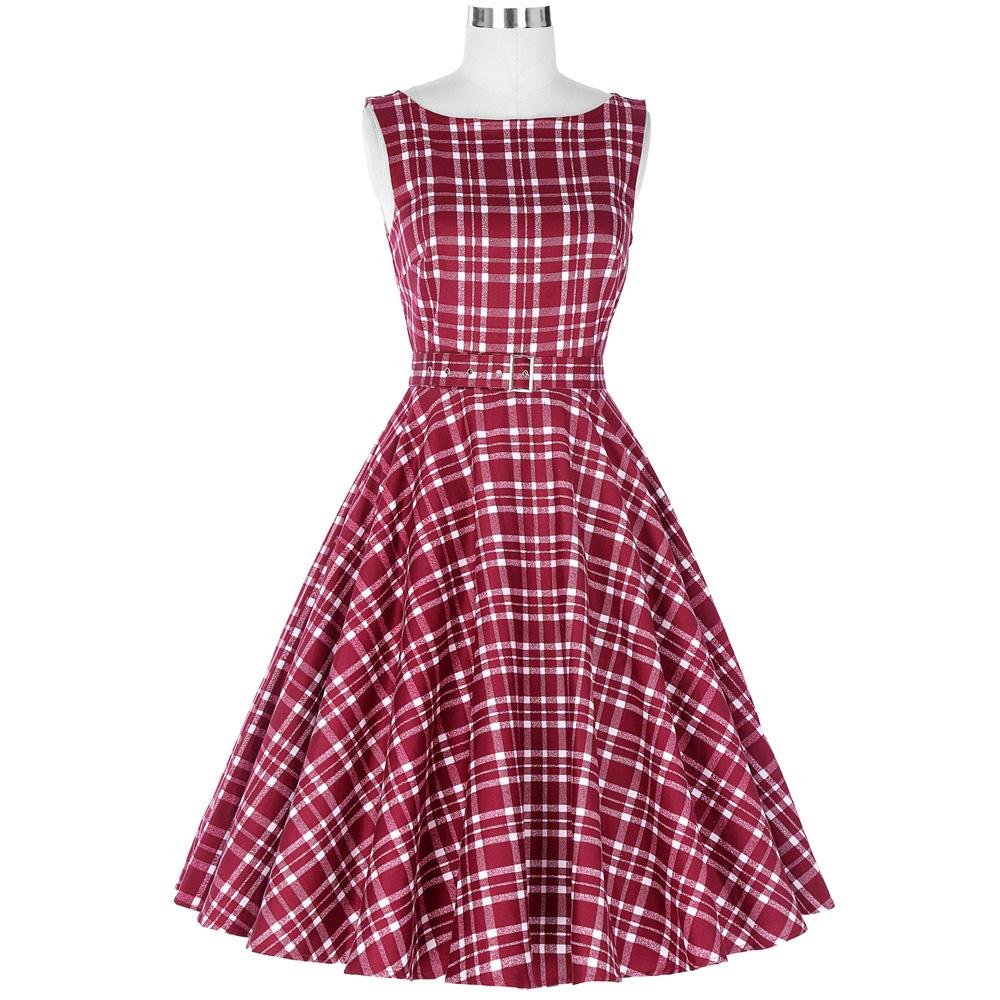 Belle poque vestido verano Audrey Hepburn 50 s 60 s vendimia ...