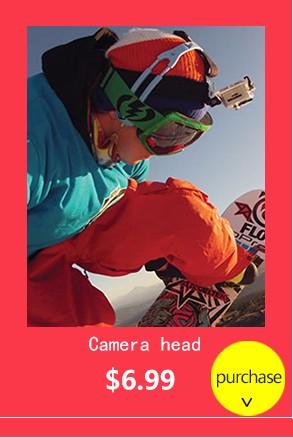 Go pro המכונית כוס יניקה בעל הר חצובה הר מתאם עבור גיבור Gopro 4 3+ 3 sjcam sj4000 Xiaomi יי פעולה אביזרים למצלמה