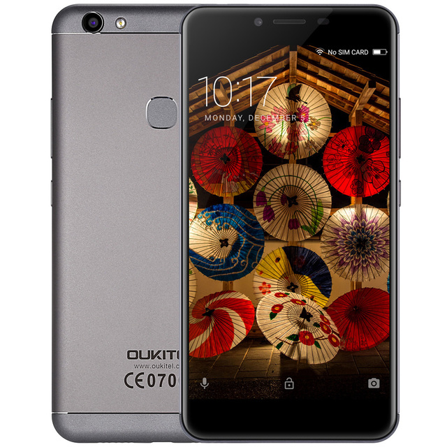 OUKITEL U15S 4G Smartphone Android 6.0 MTK6750T Octa-Core 4GB+32GB 16.0MP+8.0MP Fingerprint 5.5inch IPS 1080P FHD Mobile Phone