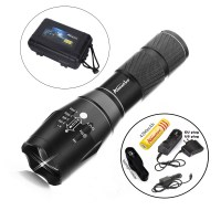 CREE XML T6 LED 2000Lm cree led Torches Zoomable Tactical ...