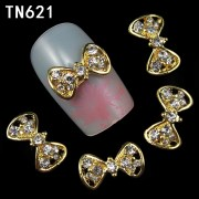 10pcs-2015-golden-nail-bow-3d-metal-alloy-nail-art