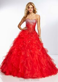 Fluffy Prom Dress 2015_Prom Dresses_dressesss