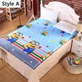 Cute Cartoon Thick Warm Foldable Single Or Double Mattress Fashion NEW Topper Quilted Bed