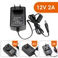 ZOSI DC 12V 2A Power Supply Adaptor 12V Security Professional Converter EU US UK AU Adapter