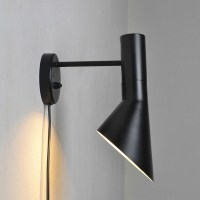 Fashion Nordic IKEA Black Wall Light LED Wall Sconce Brief ...