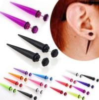 Aliexpress.com : Buy 1pair UV Acrylic Fake Ear Stretcher ...