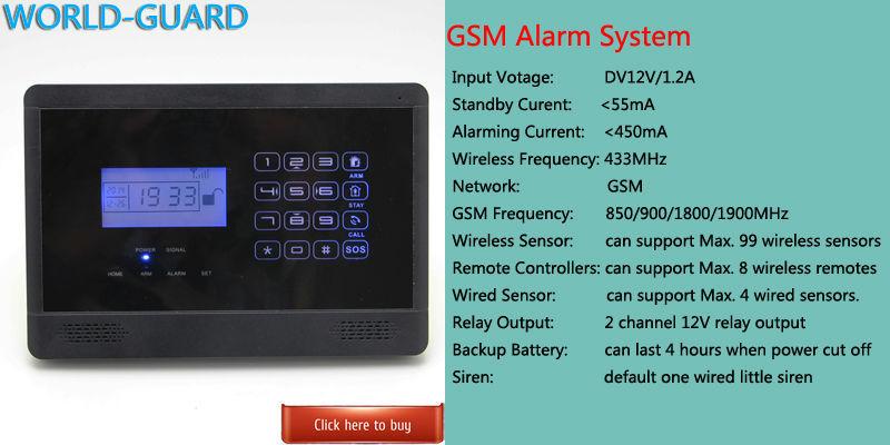 ̿̿̿(•̪ )GSM SMS Home Burglar Security Gsm Alarm System Detector ...