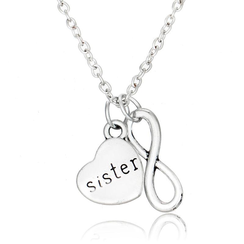 2X Best Friends Forever Split Cœur Bracelet Pendentif Set Pour Amitié Cadeau RS