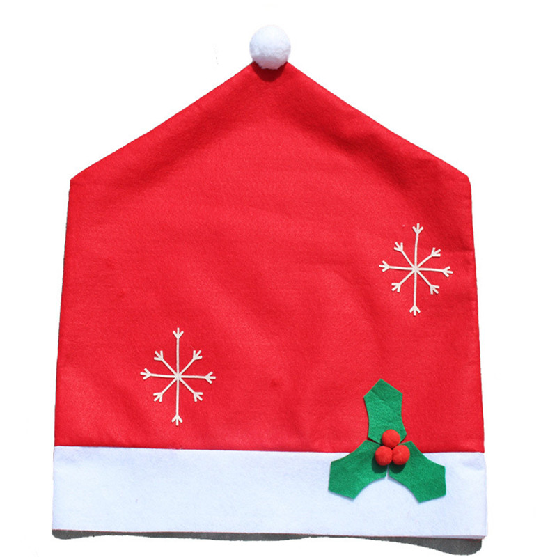 christmas chair covers ebay mould design new stylish fashion 1 set santa red hat 128 184cm tablecloth home decorations dinner gift decor