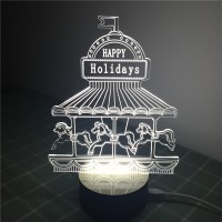 Unique Gift for Children Lamp 3D Visual Led Night Lights ...