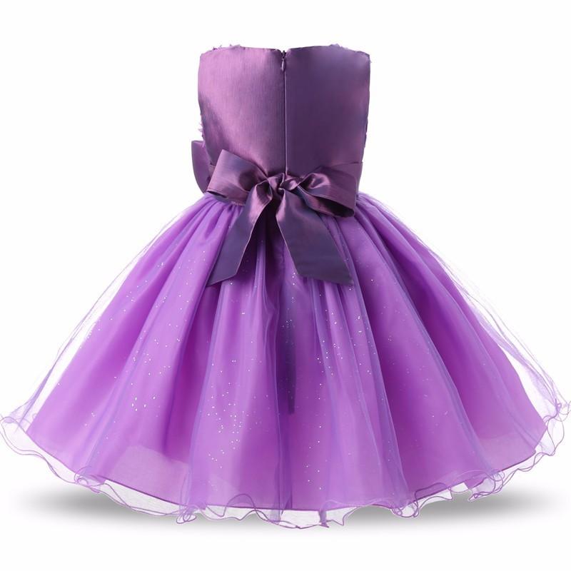 Nuevo estilo de las muchachas de partido Vestido Formal bordado dama ...