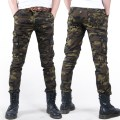 Buy fashion skinny casual military men pants 2016 thin camouflage men