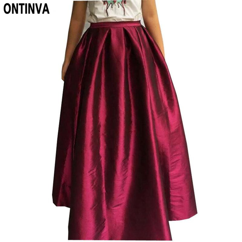 Aliexpresscom  Buy Maxi Long Skirt Floor Length Ladies