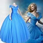 2015 Cinderella Dress Adult Costume