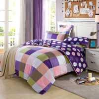 Popular Purple Plaid Comforter-Buy Cheap Purple Plaid ...