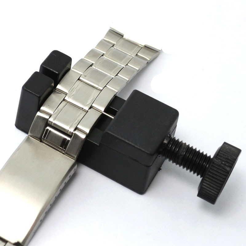 Watchband link spring bar pin remover strap adjusting watch band do it yourself easily alter your watch at home without scratching the band specifications material plastic color black sizeapprox56 x 22 x23 mm solutioingenieria Images