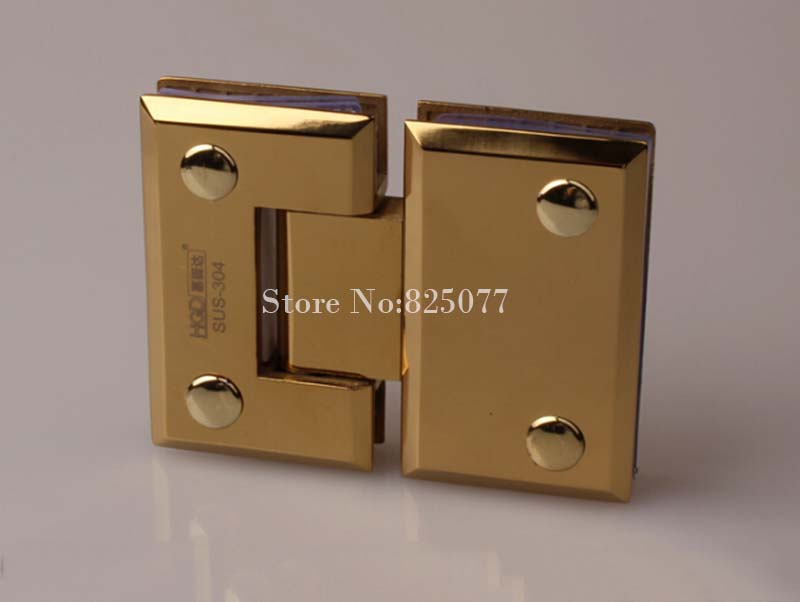 High Quality 304 Stainless Steel Bathroom Shower Glass Door Hinges