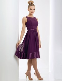 Short Purple Chiffon Bridesmaid Dresses | www.imgkid.com ...