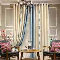 Modern Curtain For Living Room Embroidered Cloth Luxury ...
