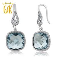 GemStoneKing Vintage 925 Sterling Silver Earrings For ...