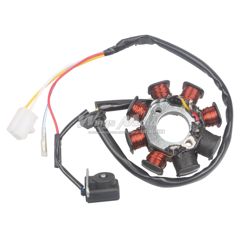 hight resolution of online buy wholesale gy6 150cc stator from china gy6 150cc go kart wiring diagram scooter