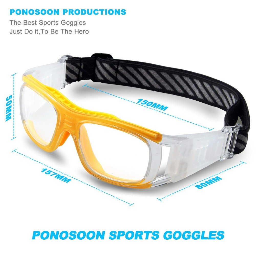 3f55e102ee0f ヾ(^▽^)ノ2016 Protective Men s Sports Goggles Eyewear Glasses for ...