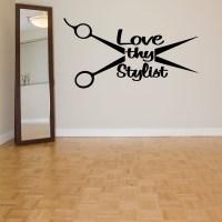 Salon Wall Art - u Wall Decal
