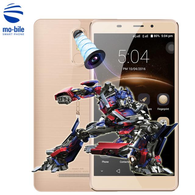 "Original Leagoo M8 Android 6.0 MT6580A 5.7""HD 3G Mobile Phone Quad Core 2GB RAM 16GB ROM 13.0MP 3500mah Fingerprint Smartphone"