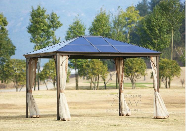 gazebo gartenpavillon | sichtschutz, Terrassen ideen