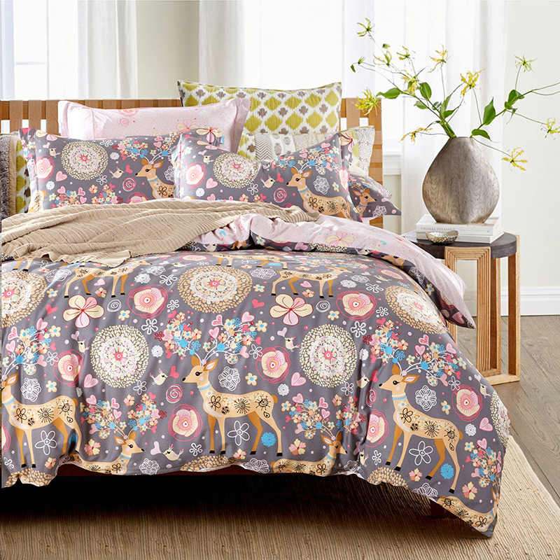 Online Buy Wholesale cow print comforter from China cow