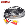 ZOSI 18 3m CCTV Power Video BNC DC plug cable for CCTV Camera and DVR system