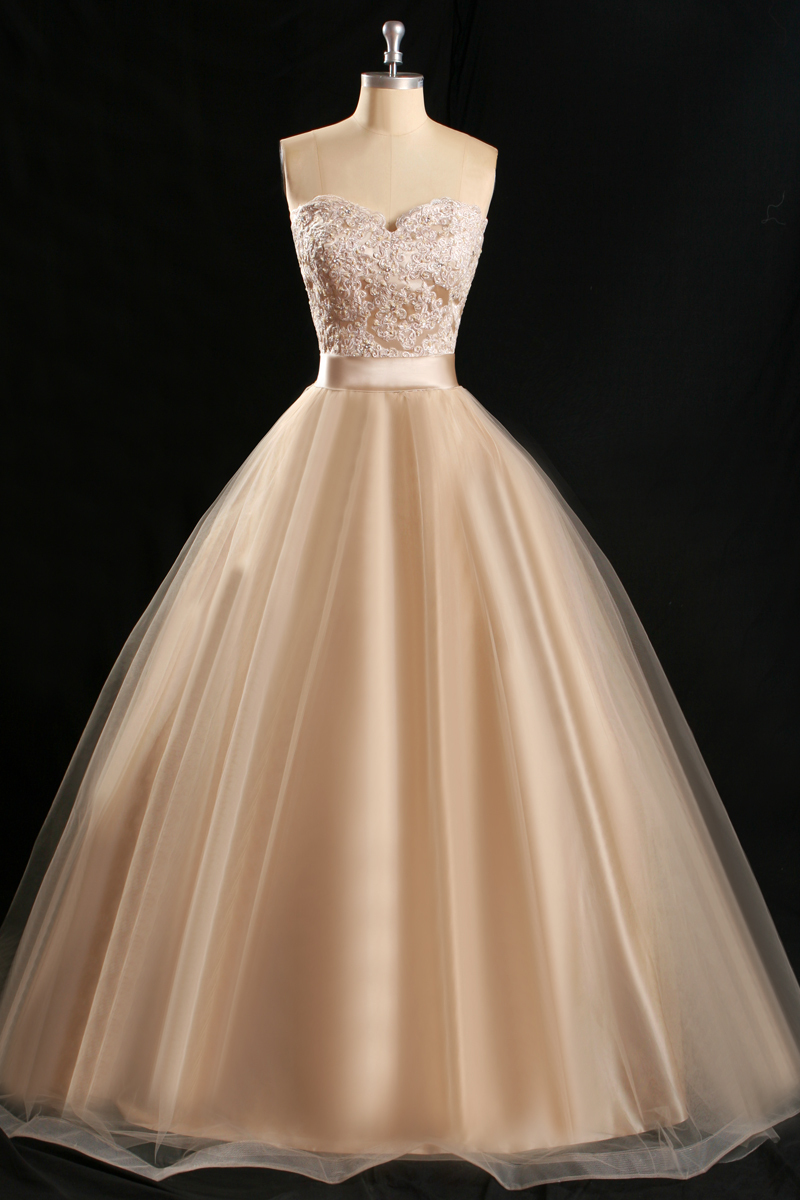 Fashionable Sweetheart Princess Evening Dresses Real