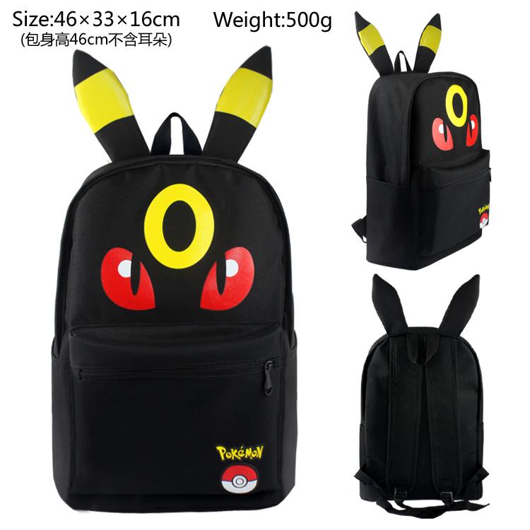 12a55193be694a Pokemon della Tela di Canapa Zaino Studenti Sacchetto di Spalle Pocket  Mostro Haunter Zaini Borse per Notebook Condizione: Brand NEW Materiale:  Tela di ...