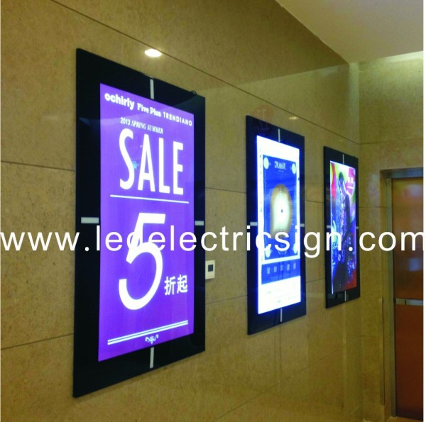 LED Advertising Light Box Display