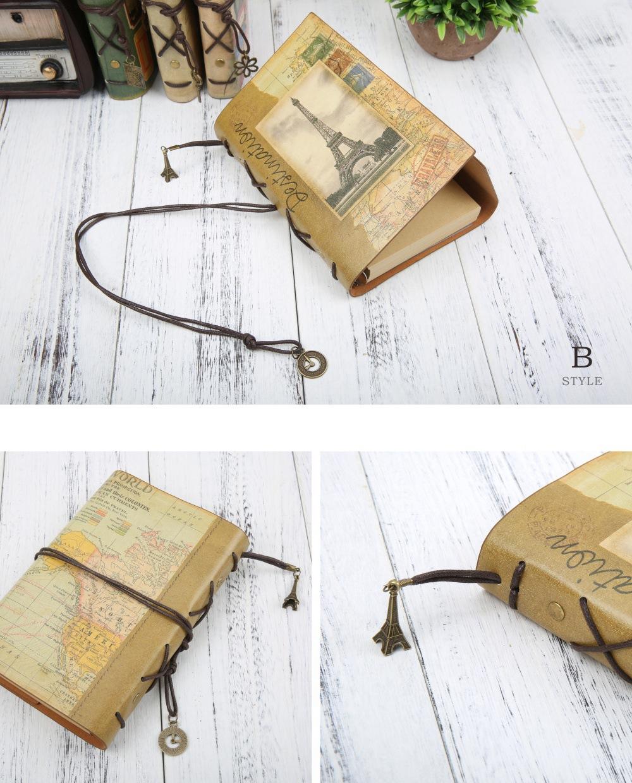 A6 reisenden der Notebook 2017 Vintage journal Retro Notizblock ...