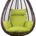 Shape hollow egg shaped balcony hammock indoor adult swing hanging