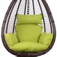 Oval shape hollow egg shaped balcony hammock indoor adult ...