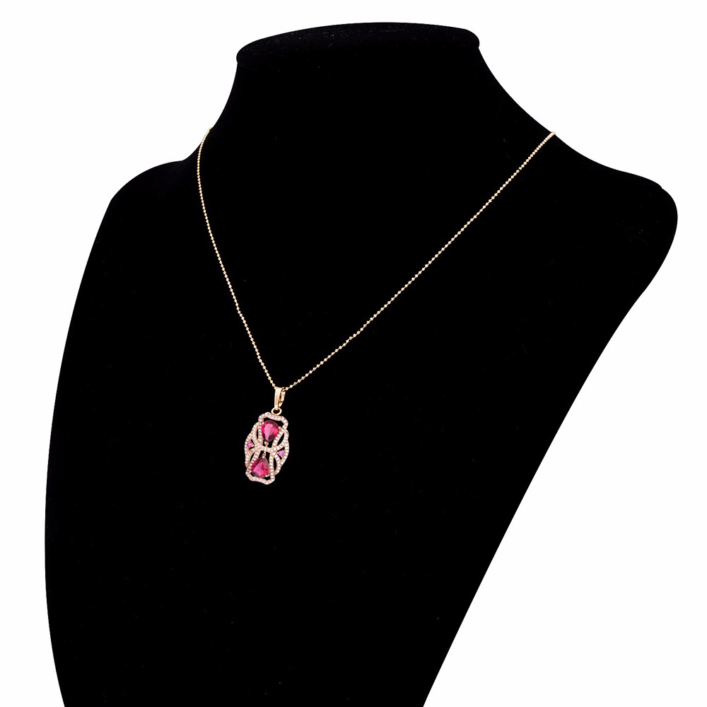 Luxury Artificial Pendant Necklaces Aaa Cubic Zircon Austrian H16 2504 Ps24w Adapter For Fog Lights Drl Relay Wiring Harness Ebay Red1 Red3 Red4