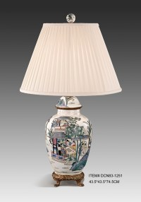 Online Buy Wholesale chinese porcelain table lamp from ...