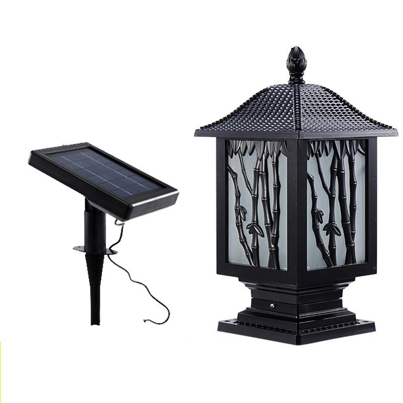 Popular Solar Garden Lamp Post Lights
