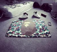Exquisite Camouflage bape rug Carpet mat non slip Pet mat ...