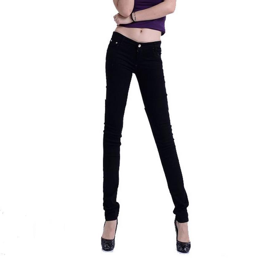 a40f5f2e41ad3 ✓Hot! de alta qualidade da moda das mulheres jeans stretch ...