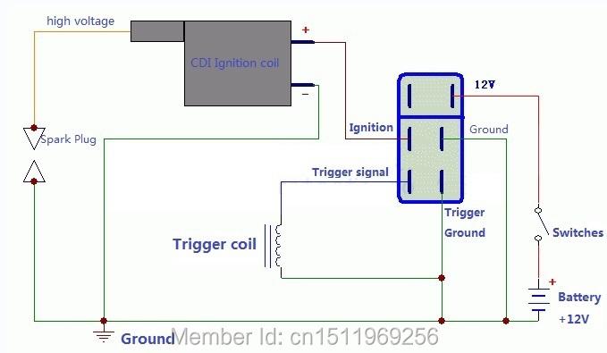 6 pin dc cdi wiring diagram