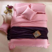 Pink Luxury bedding sets queen duvet cover king size sheet ...