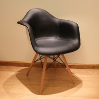 Armrest PU leather . chair simple casual soft bag chairs ...