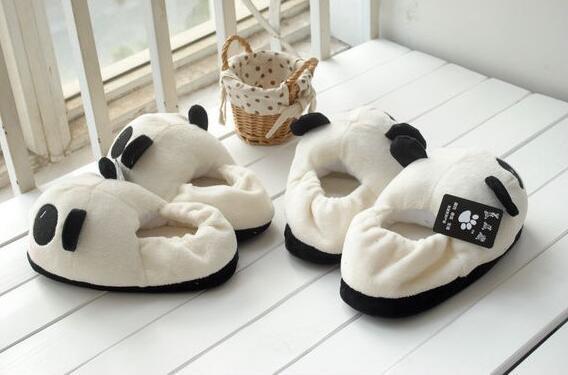 Pantoufles d'intérieur tendre pour les amoureux Duex paires emballer FammeM 36-38 HommeL 40-43 DejJ0OA14